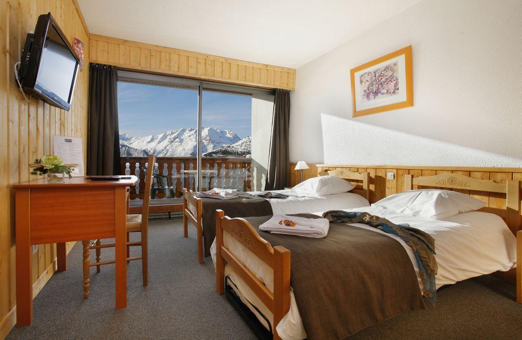 Alpe d huez chambre avec balcon 2 3 personnes eliova - Chambre d hote alpes d huez ...